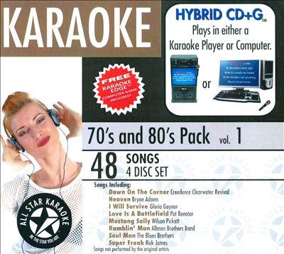 Karaoke: 70's & 80's Pack