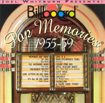 Billboard Pop Memories: 1955-1959
