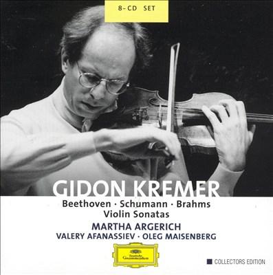 Beethoven, Schumann, Brahms: Violin Sonatas
