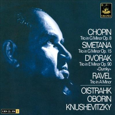 Chopin, Smetana, Dvorak, Ravel: Piano Trios