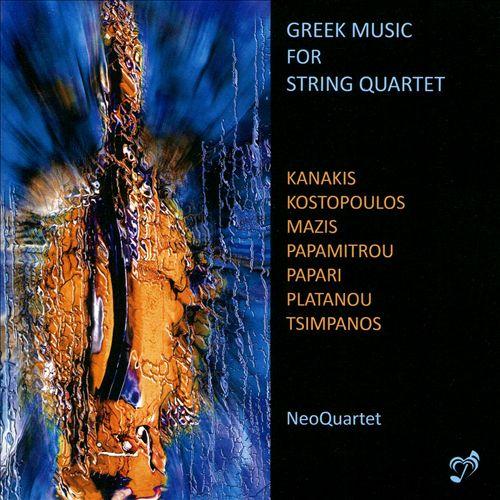 Greek Music for String Quartet