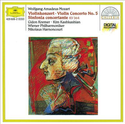 Mozart: Violin Concerto No.5; Sinfonia concertante K.364