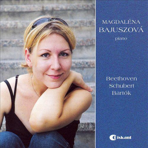 Magdaléna Bajuszová plays Beethoven, Schubert and Bartók