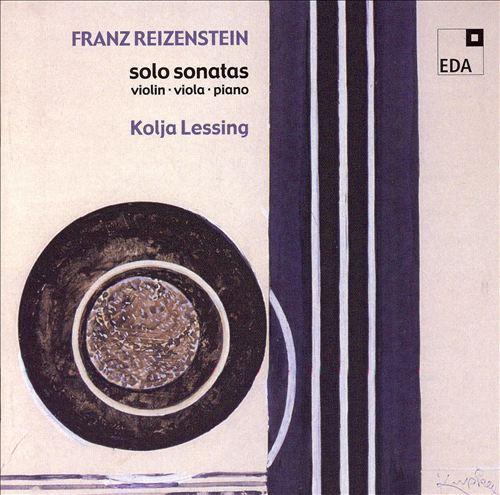 Franz Reizenstein: Solo Sonatas