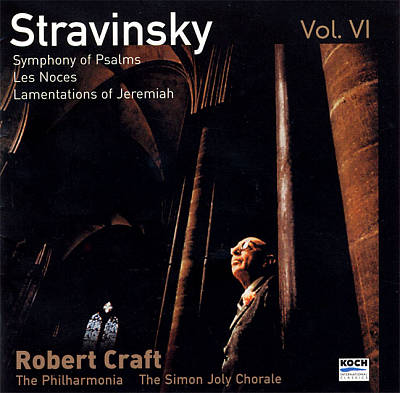 Stravinsky: Symphony of Psalms; Les Noces; Threni
