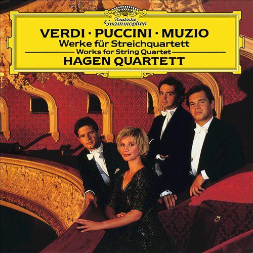 Verdi, Puccini, Muzio: Werke für Streichquartett