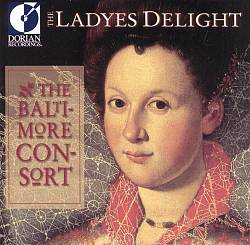 Ladyes Delight: Entertainment Music of Elizabethan England