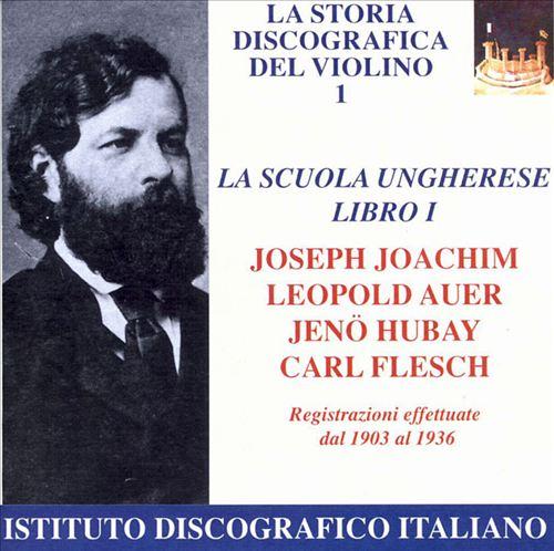 Hungarian Violin School, Vol. 1