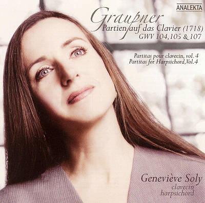 Graupner: Partien auf das Clavier (1718) GWV 104, 105 & 107