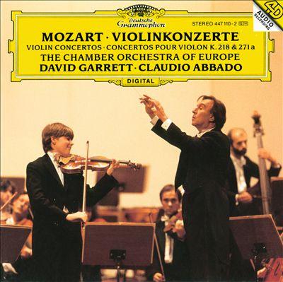 Mozart: Violinzonzerte K.218 & 271a