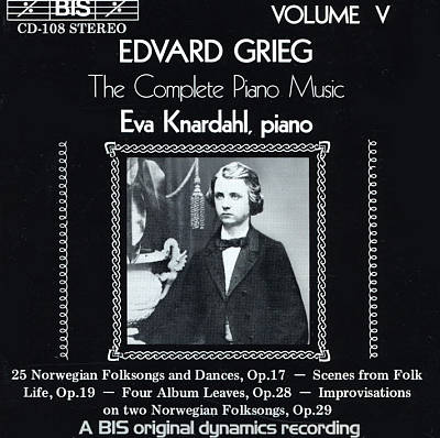 Grieg: The Complete Piano Music, Vol. 5