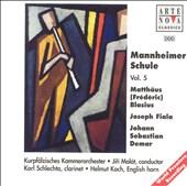 Mannheimer Schule, Vol. 5