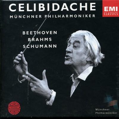 Sergiu Celibidache conducts Beethoven, Brahms & Schumann [United Kingdom]