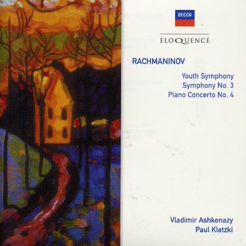 Rachmaninov: Youth Symphony; Symphony No. 3; Piano Concerto No. 4 [Australia]