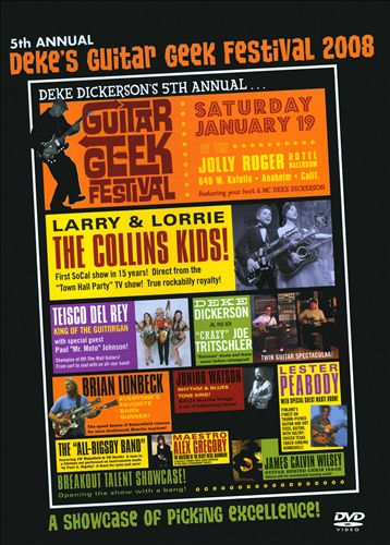 Deke's Guitar Geek Festival, Vol. 5 2008 [DVD]
