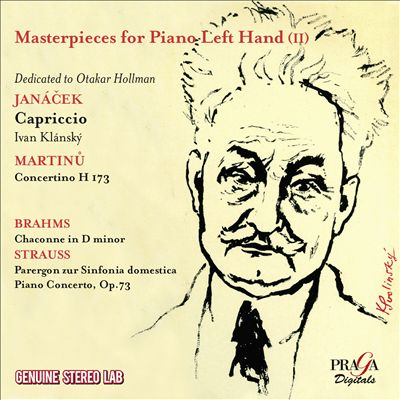 Masterpieces for Piano Left Hand, Vol. 2