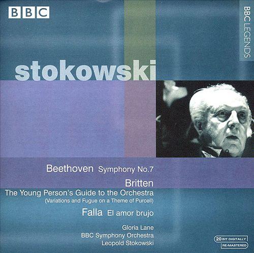 Stokowski Conducts Beethoven, Britten, Falla