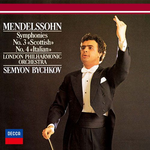 "Mendelssohn: Symphyonies No. 3 ""Scottish"", No. 4 ""Italian"""