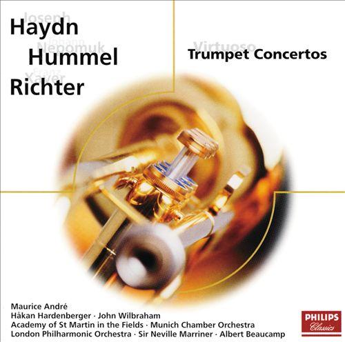 Haydn, Hummel, Richter: Trumpet Concertos
