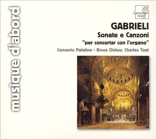 Gabrieli: Sonata & Canzoni per concertar con l'organo