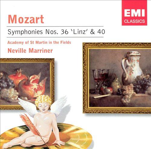 "Mozart: Symphonies Nos. 36 ""Linz"" & 40"