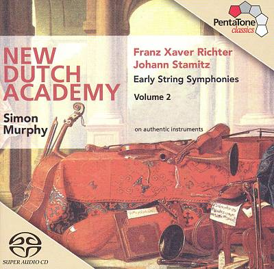 Franz Xaver Richter, Johann Stamitz: Early String Symphonies, Vol. 2