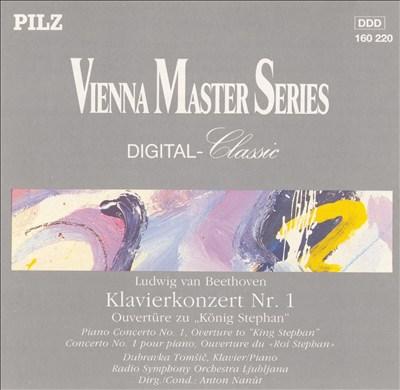 "Beethoven: Klavierkonzert Nr. 1; Ouvertüre zu ""König Stephan"""