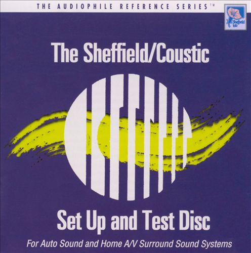 Sheffield/Coustic Set-Up and Test Disc