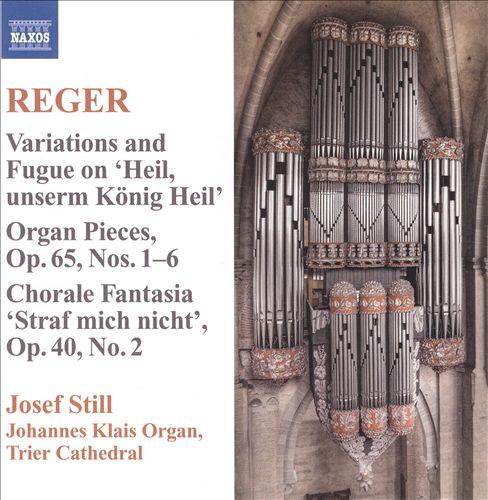Reger: Organ Works, Vol. 9