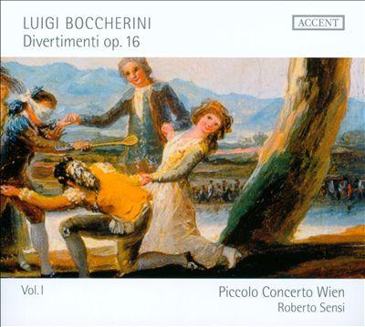 Boccherini: Divertimenti, Op. 16