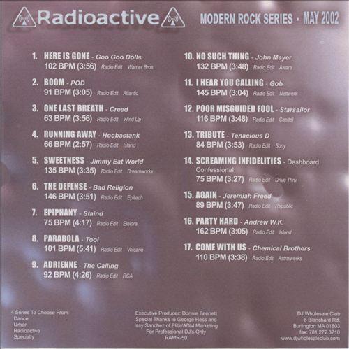 Radioactive: Modern Rock Series (May 2002)