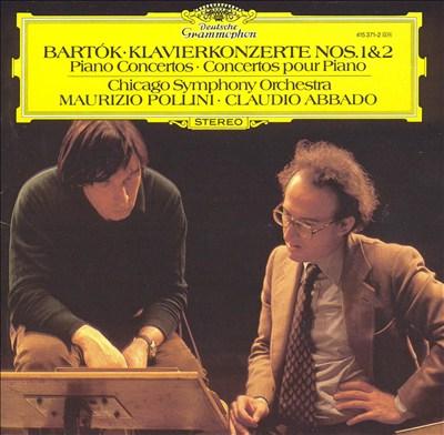 Bartók: Klavierkonzerte nos. 1 & 2