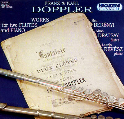 Franz & Karl Doppler: Works for Two Flutes and Piano