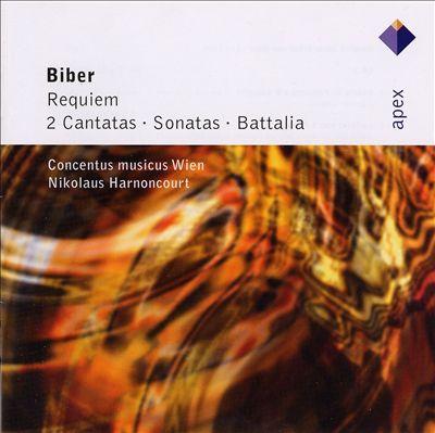 Biber: Requiem; 2 Cantatas; Sonatas; Battalia