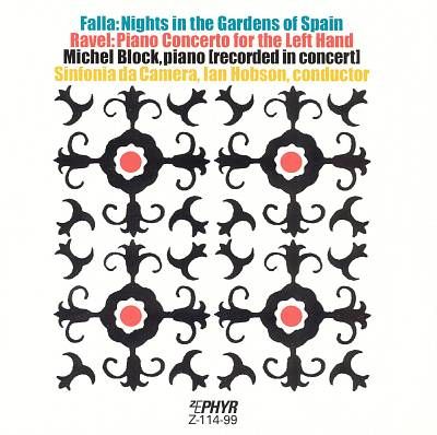 Falla: Nights in the Gardens of Spain; Ravel: Concerto for the Left Hand