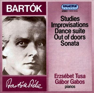 Bartók: Studies; Improvisations; Dance Suite; Out of Doors; Sonata