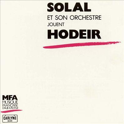 Solal et Son Orchestre Jouent Hodeir