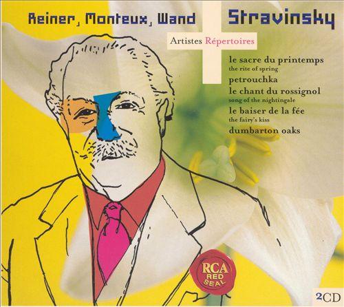 Stravinsky: Le Sacre du printemps; Petrouchka; Le chante du rossignol; etc.