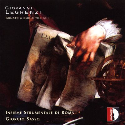 Giovanni Legrenzi: Sonate a due e tre, Op. II