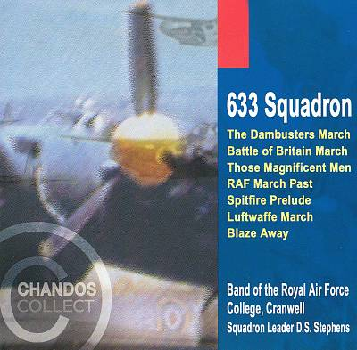 633 Squadron; The Dambusters March, etc.