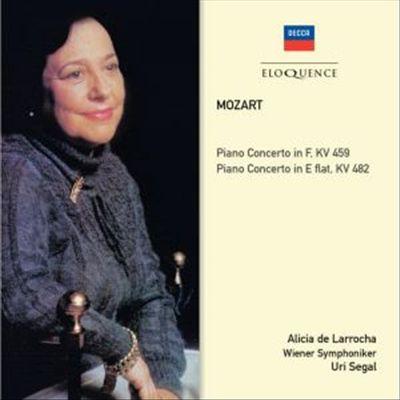 Mozart: Piano Concerto in F, KV 459; Piano Concerto in E flat, KV 482