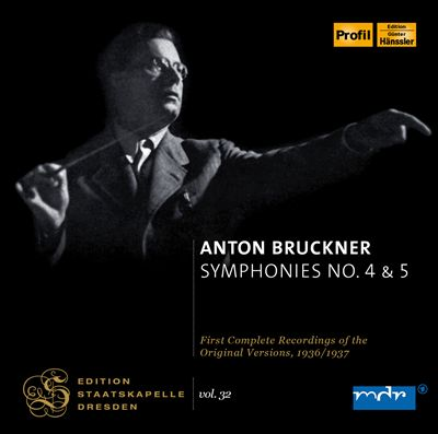 Bruckner: Symphonies Nos. 4 & 5