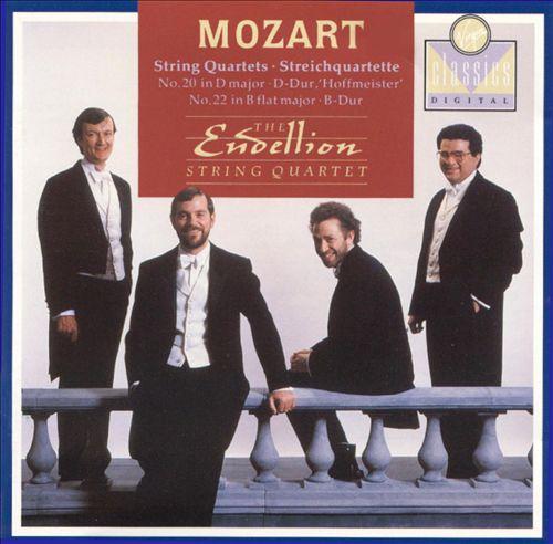 Mozart: String Quartets, K499 & K589