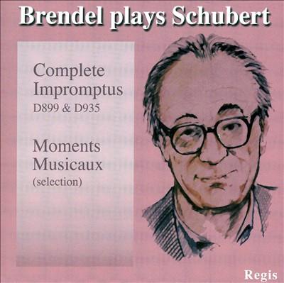 Brendel plays Schubert: Complete Impromptus, Moments Musicaux
