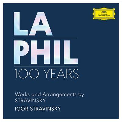 Works and Arragements by Stravinsky