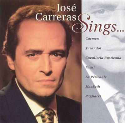 José Carreras Sings...