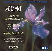 Mozart: Horn Concerto, K417; Harp Concerto, K415; Symphony No. 23