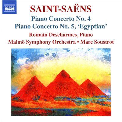 Saint-Saëns: Piano Concerto No. 4; Piano Concerto No. 5, 'Egyptian'