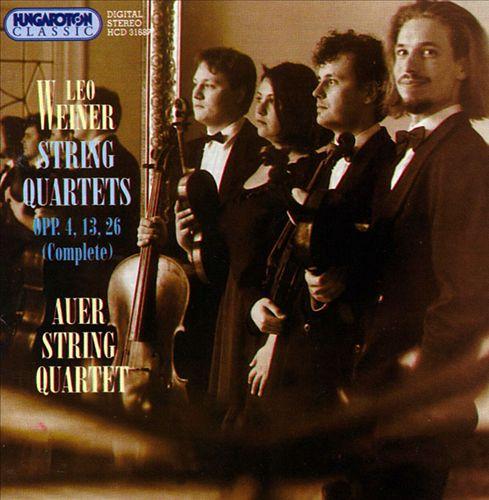 Weiner: String Quartets