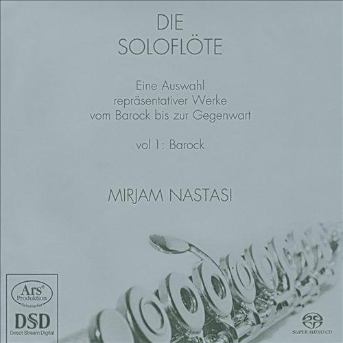 Die Soloflöte Vol. 1: Barock